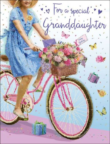For A Special Granddaughter Bike C80215